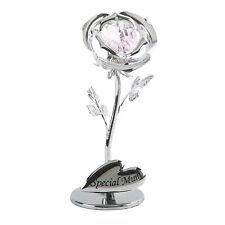 SPECIALE MAMMA Rose Fiore Mummia RICORDO Regali Compleanno Elementi Swarovski Crystal