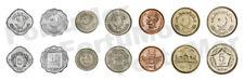 Pakistan SET OF 7 COINS, 5 10 25 50 Paise 1 2 5 Rupee 1987 2006 AUNC / UNC