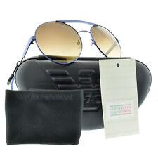 Emporio Armani EA 9791/S CTN/4D Purple Aviator Sunglasses Unisex