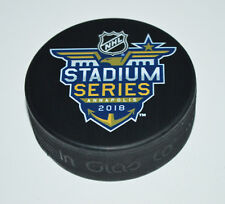 2018 STADIUM SERIES SOUVENIR PUCK Toronto Maple Leafs vs Washington Capitals
