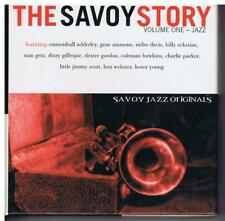 The Savoy Story, Vol. 1: Jazz by Various Artists (3 CD's, 1999, Savoy Jazz)