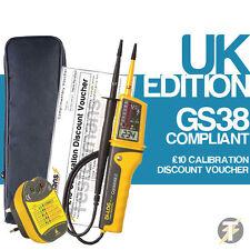 Di-Log DL6790 CombiVolt 2 Voltaje y Continuidad Probador KIT5, Enchufe Probador, Case
