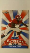 NFL Trading Card Jonathan Allen Washington Redskins 2017 Leaf All-American