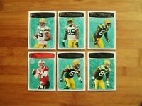 2008 GREEN BAY PACKERS Topps RP TEAM SET