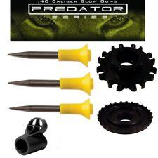 Predator 25 pack of .40 caliber Hunting Spikes, Dart Kit & Tactical Peep Sight
