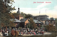 Bad Salzbrunn Szczawno-Zdrój Schlesien Elisenhalle Postkarte 1910