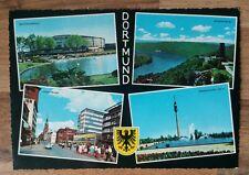 AK DORTMUND - Kampstrasse / Westfalenhalle / Hohensyburg / Fernsehturm / ca.1983