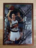 1996-97 Topps Finest STEVE NASH Apprentices Rookie Card #75 Phoenix Suns Mint RC
