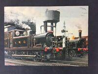 Vintage Postcard: Rail: #A5: Isle Of Wight Railway: IWC Terrier Newport