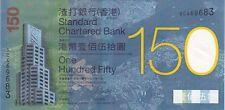 COMMEMO HONG KONG : 150 DOLLARS 2009 150 ANS CHARTERED BANK NEUF ENCART - P.296