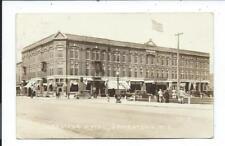 Real Photo Postcard Post Card Jamestown North Dakota ND N D Gladstone Hotel
