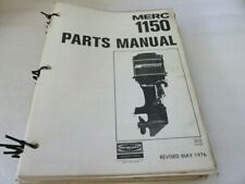 Pm80 1977 Mercury 1150 Parts Catalog Manual