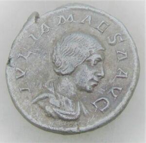 UNRESEARCHED ANCIENT ROMAN SILVER DENARIUS COIN 2.26G
