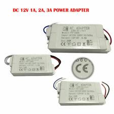 DC 12V LED Driver Power Supply Transformer 240V White Case Light Weight - UK