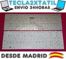 TECLADO PARA PORTATIL Acer Aspire One 722-C52kk SP ESPAÑOL  BLANCO