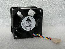 Delta AFB0612EHE 60mm x 38mm Extreme Speed PWM Fan 62 CFM 4 Pin + Extension