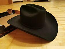 """STETSON PRESIDENTE GE 100X 4"""" BRIM COWBOY HAT (BLACK)"""