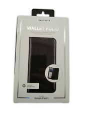 Case-Mate Leather Wallet Folio Case for Google Pixel 2 - Black