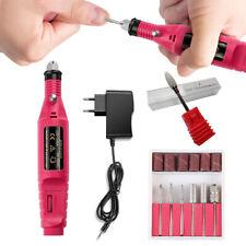 Professional Electric Drill Nail Tools 6 Bits Drill Nail Drill Machine Equipment