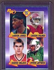 2003 LEBRON JAMES SMSV IRISH High School Draft PICK SP Quad Rookie RC LAKERS!