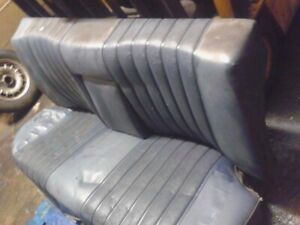Mercedes w111 Blue Rear Seat Bench 1965 220SE Fintail