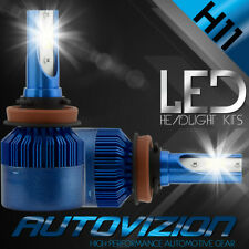 AUTOVIZION LED HID Headlight Conversion kit H11 6000K for 2015-2016 Ford F-150
