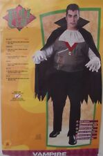 Mens Plus Size 44 - 50 Vampire Count Dracula Costume