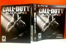 (NO GAME) (MANUAL AND ARTWORK ONLY)  PS3 CALL OF DUTY BLACK OPS 2 (NO GAME)