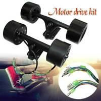 New 90mm Powered Dual  Hub Motor Drive Kit For DIY Electric Skateboard Longboard