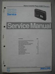 Philips AQ6617 Service Manual