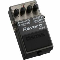 BOSS RV-6 Reverb Guitar Effects Pedal New in Box
