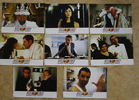 Q012 8x Aushangfotos JOHNNY ENGLISH Rowan Atkinson, John Malkovich