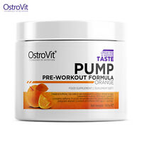 PUMP PRE-WORKOUT 300g - Massive Pumps Long Lasting Performance Muscle Growth