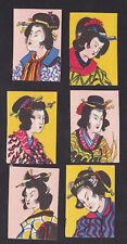 Série étiquettes  allumettes Japon BN82424 Femmes