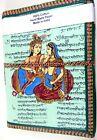 Radha Krishna Printed Cover Handmade Paper Journal Notepad Notebook Diary BA01
