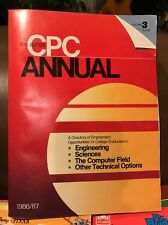 30th Edition CPC Annual Volume 3 (1986/87) Book