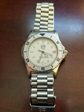 TAG Heuer 2000 Series Professional Gray Dial Stainless Steel Mens Watch 972.006F