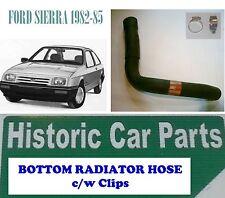 FORD SIERRA 1.3 1.6 1982-85 - BOTTOM RADIATOR HOSE & Clips