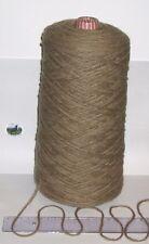 900g cone Coffee Brown 100% Pure Wool British Breed knitting thick aran BBW 326