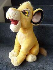 "DISNEY 13"" THE LION KING SIMBA SOFT TOY PLUSH"