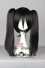 Halloween Cosplay Full wig D Gray Man Lenalee Lee Gintama Black Anime Karneval