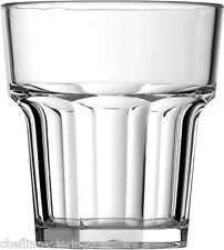 6x American Style 9oz/7cl Polycarbonate Casablanca Drinking Glass
