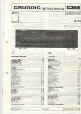 Grundig Service Anleitung Manual R 303  B519