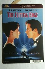 THE CUTTING EDGE MOIRA MELLY SWEENEY RARE MINI POSTER BACKER CARD (NOT A movie)