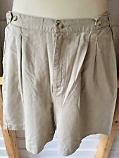 Cambridge Dry Goods Company Women's Walking Bermuda Shorts SZ 14 Taupe/Beige New