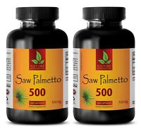 Prostate sexual health - SAW PALMETTO 500 EXTRACT - saw palmetto natures way -2B