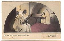 ca.1905 postcard-Library of Congress, Washington, D.C.- The Manuscript-Alexander