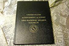 UNITED STATES ACHIEVEMENT ACADEMY 1993 NATIONAL AWARDS VOLUME 84