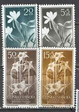 Guinea Edifil # 358-361 **  Flores / flowers