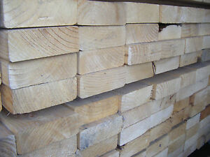 SOFTWOOD C16 KILN DRIED EASED EDGE JOISTS EX 50mm X 125mm (5X2) VARIOUS LENGTHS